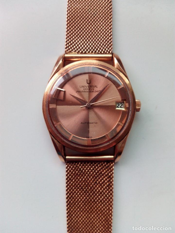 Relojes automáticos: Reloj de oro rosa de 18 kilates, de la marca Geneve automático. - Foto 5 - 61867088