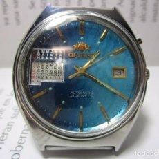Relojes automáticos: ANTIGUO RELOJ ORIENT AUTOMATICO VINTAGE 21 JEWELS PARA HOMBRE RARO MUY ESCASO RAREZA. Lote 209613586
