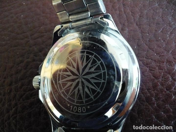 Relojes automáticos: SLAVA MECÁNICO AUTOMATICO NUEVO 25 RUBÍES URSS - CCCP RUSIA , CON ESTUCHE. NEW OLD STOCK - Foto 3 - 29449416