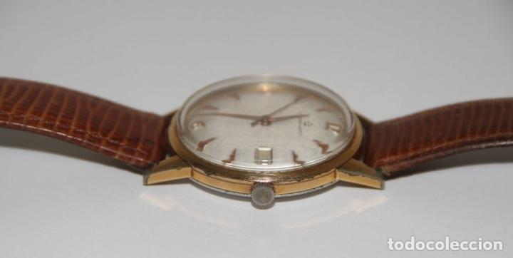 Relojes automáticos: RE399 ETERNA-MATIC VINTAGE. PLAQUÉ ORO. FUNCIONA. SUIZA. AÑOS 50 - Foto 4 - 63106416