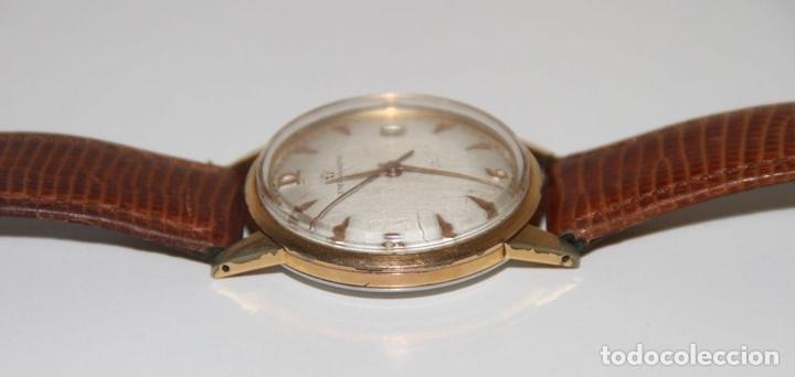 Relojes automáticos: RE399 ETERNA-MATIC VINTAGE. PLAQUÉ ORO. FUNCIONA. SUIZA. AÑOS 50 - Foto 5 - 63106416