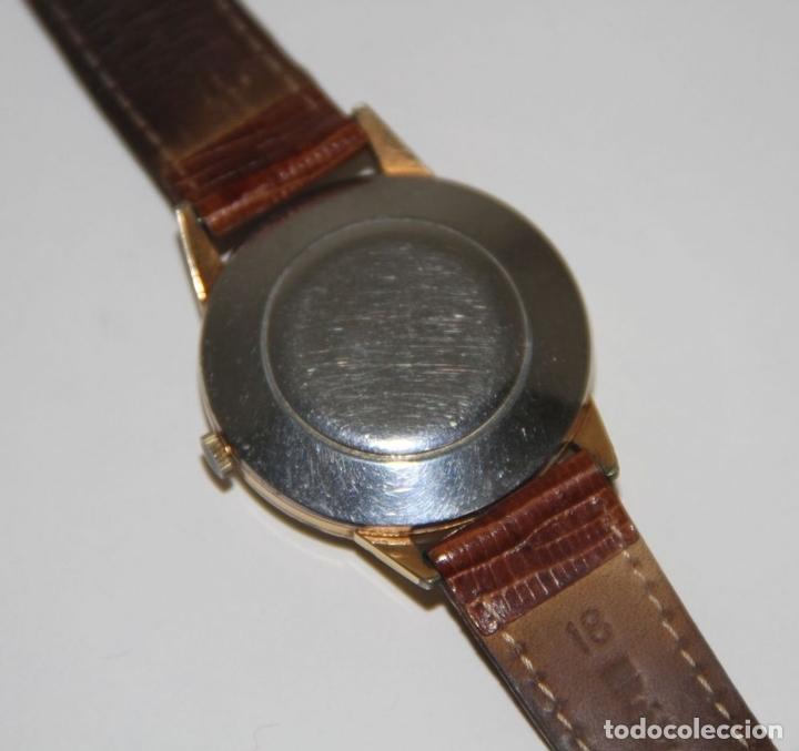 Relojes automáticos: RE399 ETERNA-MATIC VINTAGE. PLAQUÉ ORO. FUNCIONA. SUIZA. AÑOS 50 - Foto 6 - 63106416