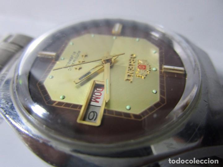 413862576931 10 fotos ANTIGUO RELOJ ORIENT 21 JEWELS AUTOMATICO HOMBRE 36MM TABLERO RARO  Y HERMOSO VINTAGE WU (Relojes ...