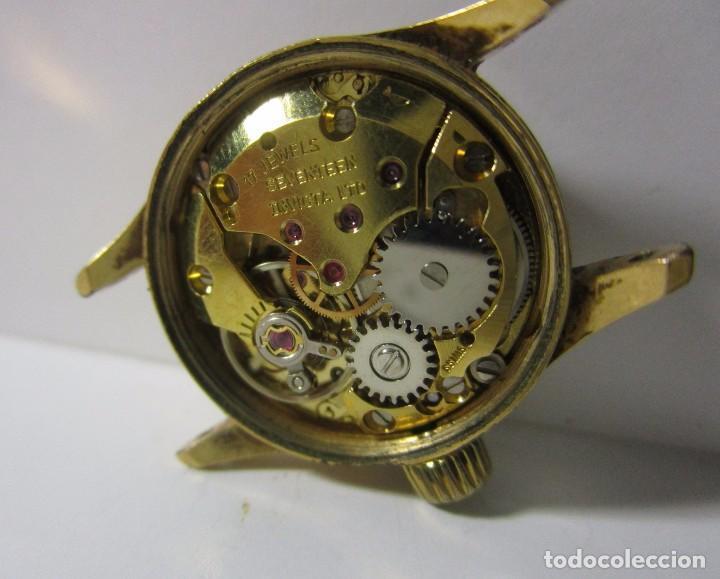 Reloj Antiguo Invicta Cuerda Suizo Hermosa Maqu Comprar