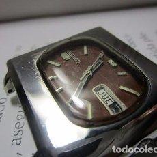 Relojes automáticos: RELOJ SEIKO 5 AUTOMATICO ANTIGUO DE COLECCION 37MM VINTAGE HOMBRE WU. Lote 63601996