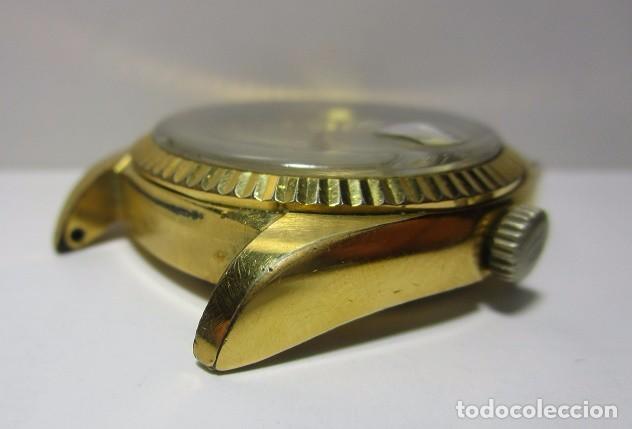 Relojes automáticos: ANTIGUO RELOJ BULOVA SUPER SEVILLE DAY DATE PRESIDENCIAL AUTOMATICO HOMBRE 37mm CHAPADO ORO VINTAGE - Foto 9 - 63604124