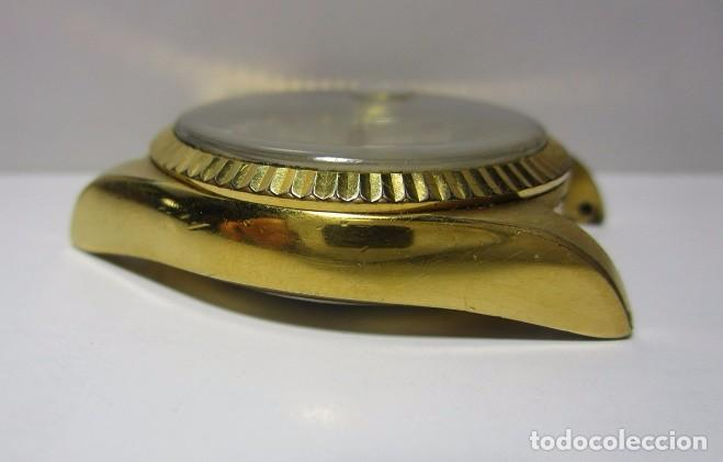 Relojes automáticos: ANTIGUO RELOJ BULOVA SUPER SEVILLE DAY DATE PRESIDENCIAL AUTOMATICO HOMBRE 37mm CHAPADO ORO VINTAGE - Foto 10 - 63604124