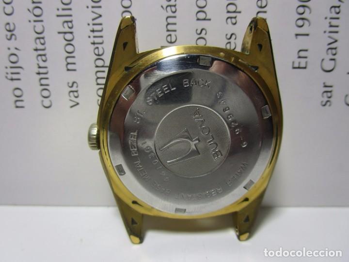 Relojes automáticos: ANTIGUO RELOJ BULOVA SUPER SEVILLE DAY DATE PRESIDENCIAL AUTOMATICO HOMBRE 37mm CHAPADO ORO VINTAGE - Foto 12 - 63604124