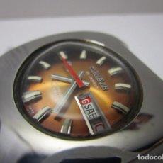 Relojes automáticos: ANTIGUO RELOJ AUTOMATICO SUIZO CORNAVIN CHAMPION HOMBRE CAJA 37MM VINTAGE RAREZA WU. Lote 64124531