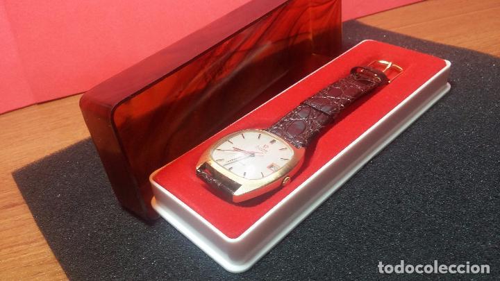 Relojes automáticos: Antiguo reloj Omega automático de caballero De Ville calibre 1002, del año 1969 - Foto 17 - 41054074