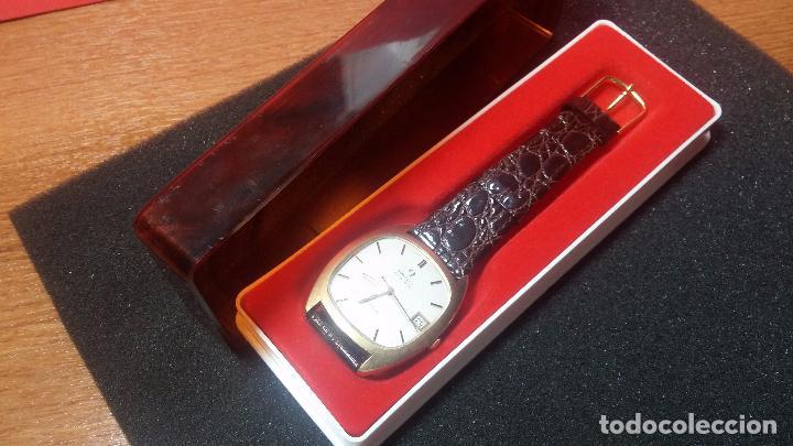 Relojes automáticos: Antiguo reloj Omega automático de caballero De Ville calibre 1002, del año 1969 - Foto 22 - 41054074