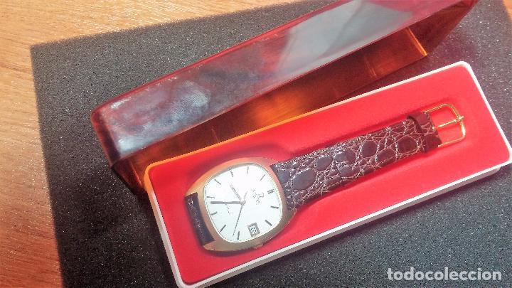 Relojes automáticos: Antiguo reloj Omega automático de caballero De Ville calibre 1002, del año 1969 - Foto 23 - 41054074