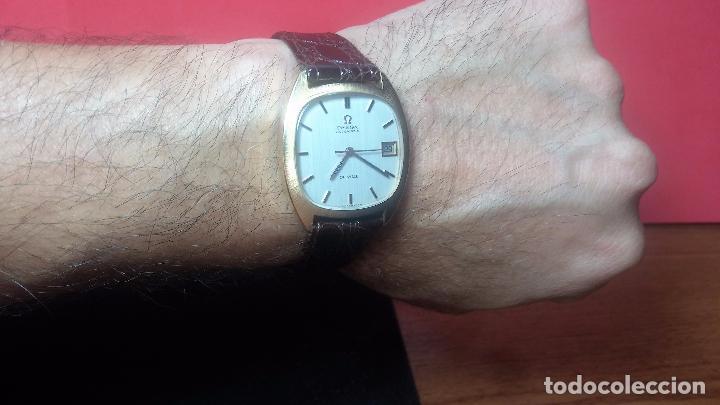 Relojes automáticos: Antiguo reloj Omega automático de caballero De Ville calibre 1002, del año 1969 - Foto 24 - 41054074