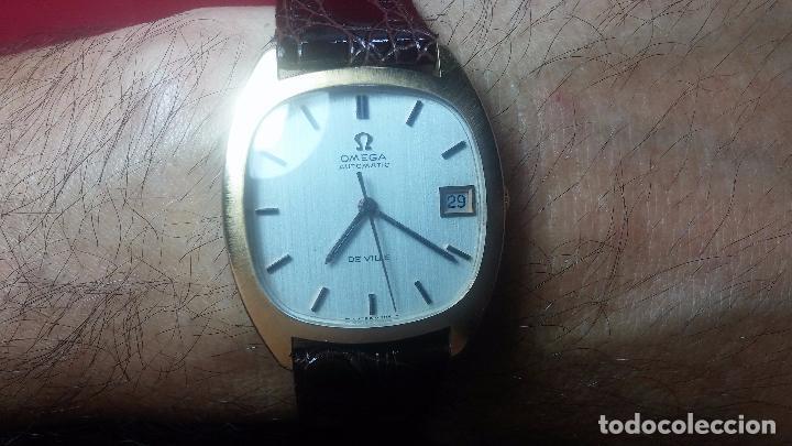 Relojes automáticos: Antiguo reloj Omega automático de caballero De Ville calibre 1002, del año 1969 - Foto 29 - 41054074