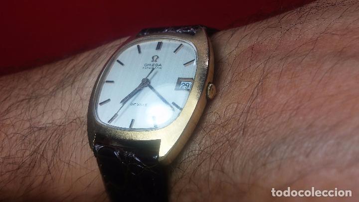 Relojes automáticos: Antiguo reloj Omega automático de caballero De Ville calibre 1002, del año 1969 - Foto 30 - 41054074