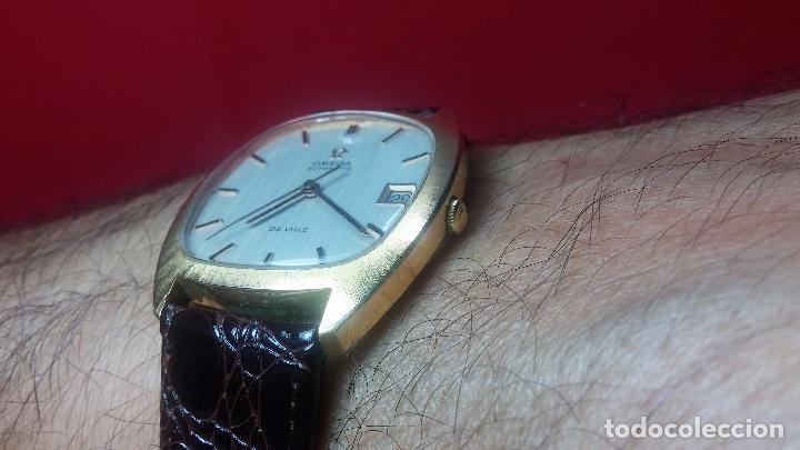 Relojes automáticos: Antiguo reloj Omega automático de caballero De Ville calibre 1002, del año 1969 - Foto 31 - 41054074