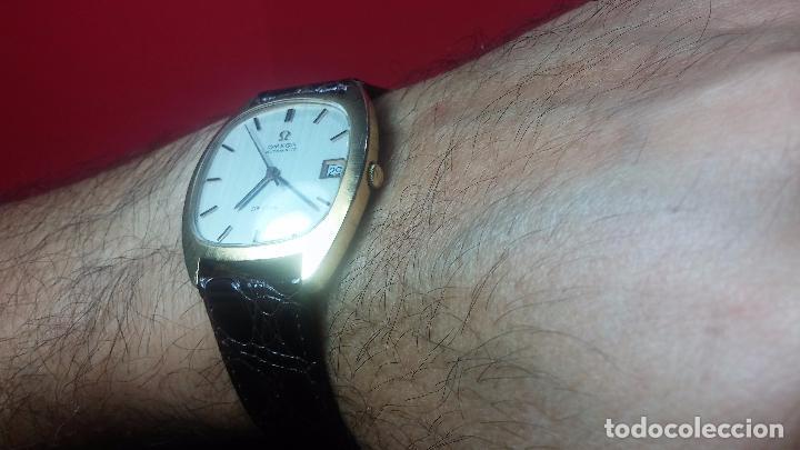 Relojes automáticos: Antiguo reloj Omega automático de caballero De Ville calibre 1002, del año 1969 - Foto 36 - 41054074