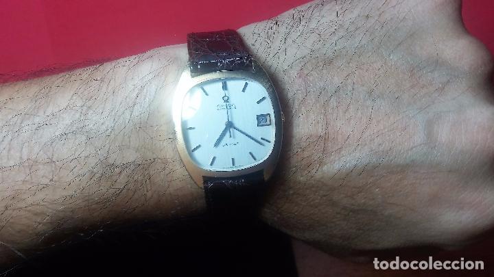 Relojes automáticos: Antiguo reloj Omega automático de caballero De Ville calibre 1002, del año 1969 - Foto 37 - 41054074