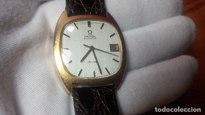 Relojes automáticos: Antiguo reloj Omega automático de caballero De Ville calibre 1002, del año 1969 - Foto 42 - 41054074