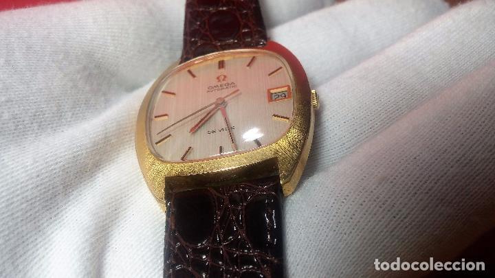 Relojes automáticos: Antiguo reloj Omega automático de caballero De Ville calibre 1002, del año 1969 - Foto 45 - 41054074
