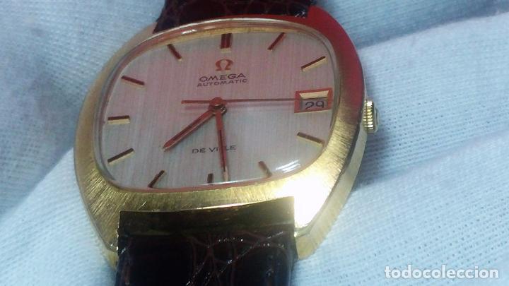 Relojes automáticos: Antiguo reloj Omega automático de caballero De Ville calibre 1002, del año 1969 - Foto 49 - 41054074