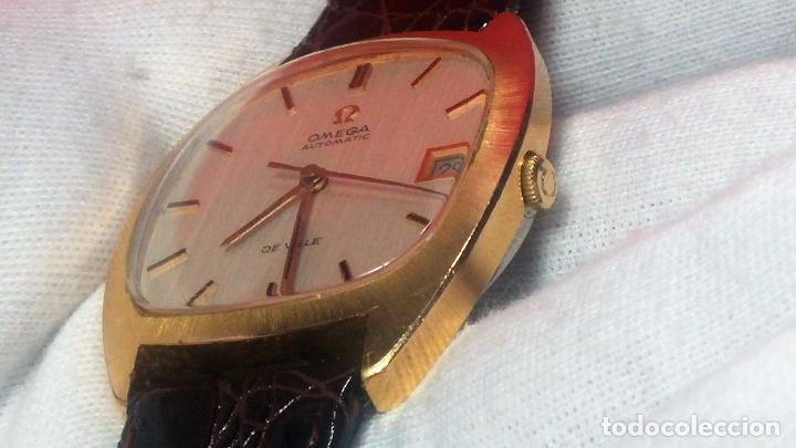 Relojes automáticos: Antiguo reloj Omega automático de caballero De Ville calibre 1002, del año 1969 - Foto 50 - 41054074