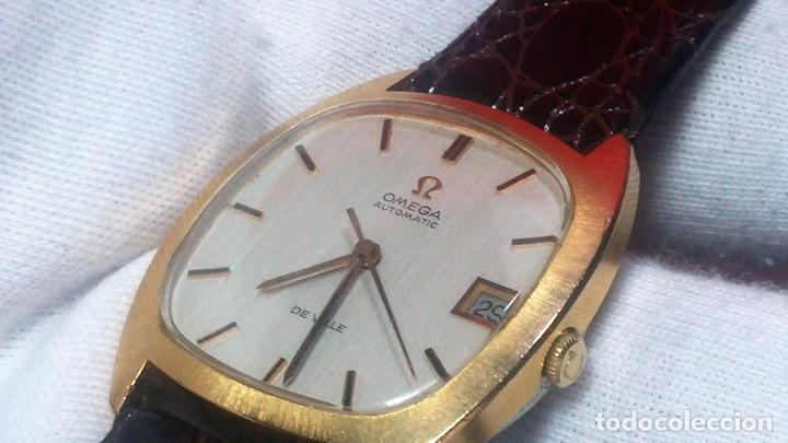 Relojes automáticos: Antiguo reloj Omega automático de caballero De Ville calibre 1002, del año 1969 - Foto 51 - 41054074