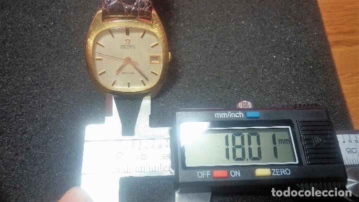 Relojes automáticos: Antiguo reloj Omega automático de caballero De Ville calibre 1002, del año 1969 - Foto 64 - 41054074