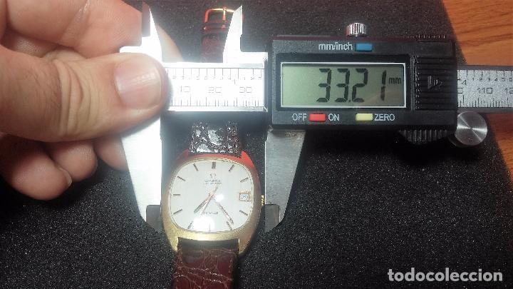 Relojes automáticos: Antiguo reloj Omega automático de caballero De Ville calibre 1002, del año 1969 - Foto 66 - 41054074