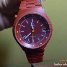 Relojes automáticos: RELOJ MICRO. AÑOS 80. QUARTZ. FEMENINO. A ESTRENAR, DE ANTIGUA RELOJERÍA. VINTAGE.. Lote 65253851