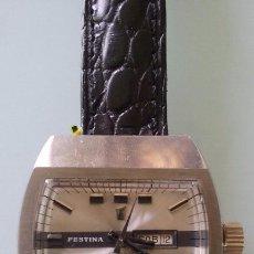 Relojes automáticos - RELOJ MUJER FESTINA AUTOMÁTICO CALENDARIO AÑOS 70 VINTAGE - 107583812