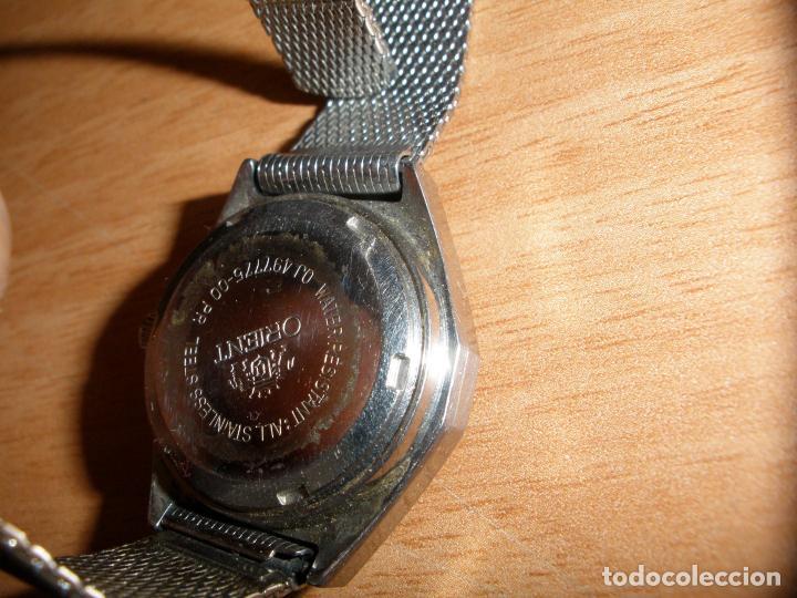 Relojes automáticos: RELOJ PULSERA ORIENT AUTOMATIC 21 JEWELS - Foto 3 - 66296962