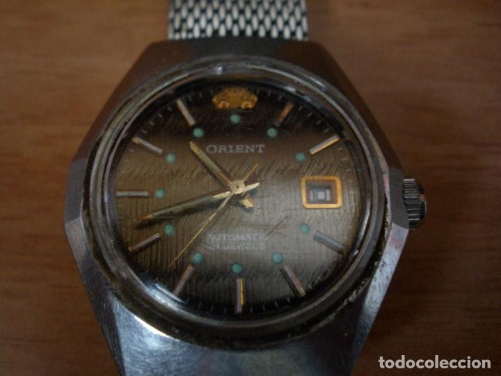 Relojes automáticos: RELOJ PULSERA ORIENT AUTOMATIC 21 JEWELS - Foto 4 - 66296962