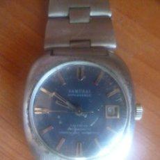 Relojes automáticos: RELOJ SAMURAI SUIZO. Lote 67717073