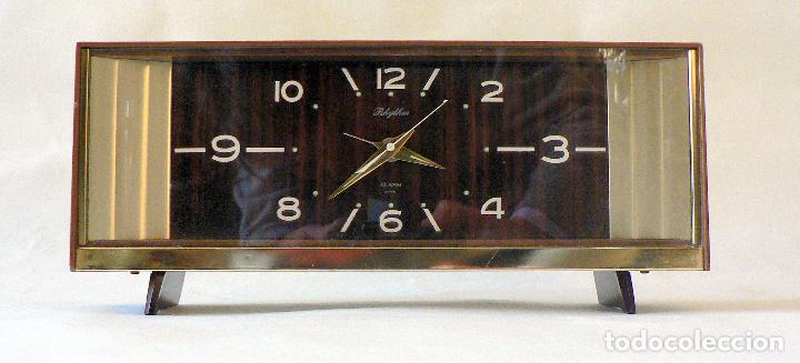 RELOJ DESPERTADOR RHYTHM - JAPON AÑOS 60 70 (Relojes - Relojes Automáticos)
