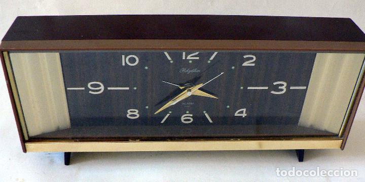 Relojes automáticos: RELOJ DESPERTADOR RHYTHM - JAPON AÑOS 60 70 - Foto 5 - 68056465
