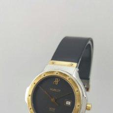 Relojes automáticos: HUBLOT ACERO Y ORO-CADETE-SEÑORA. Lote 68308329
