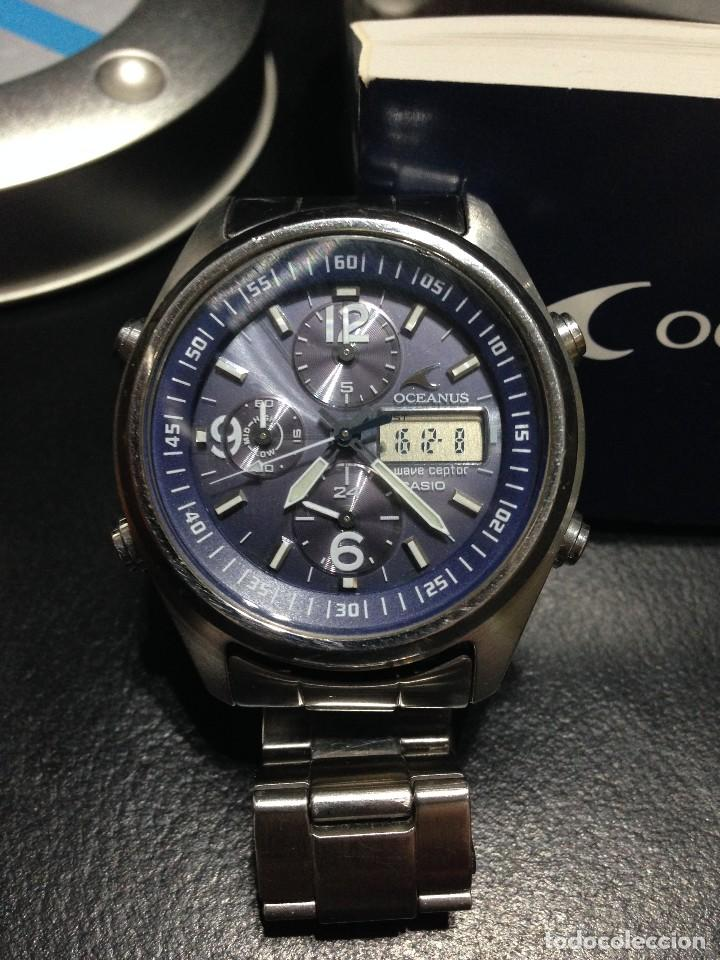 2eb400f6f74a Reloj casio oceanus ocw-520 (recepción de hora - Sold through Direct ...