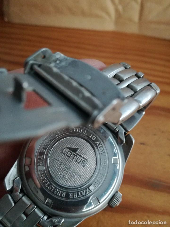 Relojes automáticos: PRECIOSO LOTUS DE QUARZO, COLECCION 15295 - Foto 2 - 72184279