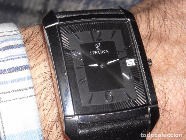Relojes automáticos: reloj de caballero festina muy buen estado. - Foto 2 - 72338479