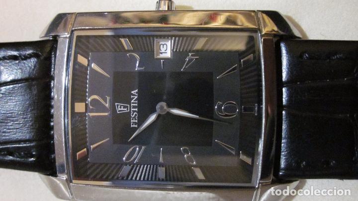 Relojes automáticos: reloj de caballero festina muy buen estado. - Foto 6 - 72338479