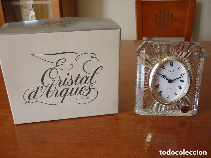 Relojes automáticos: RELOJ DE CRISTAL D´ARQUES .SIN ESTRENAR - Foto 2 - 72347935