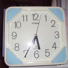 Relojes automáticos: RELOJ DE PARED CITIZEN MADE IN JAPAN. Lote 72353175