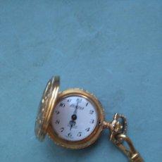 Relojes automáticos: EXACTUS RELOJ BOLSILLO SEÑORA VINTAGE CON CADENA DE MONEDAS. Lote 72717763