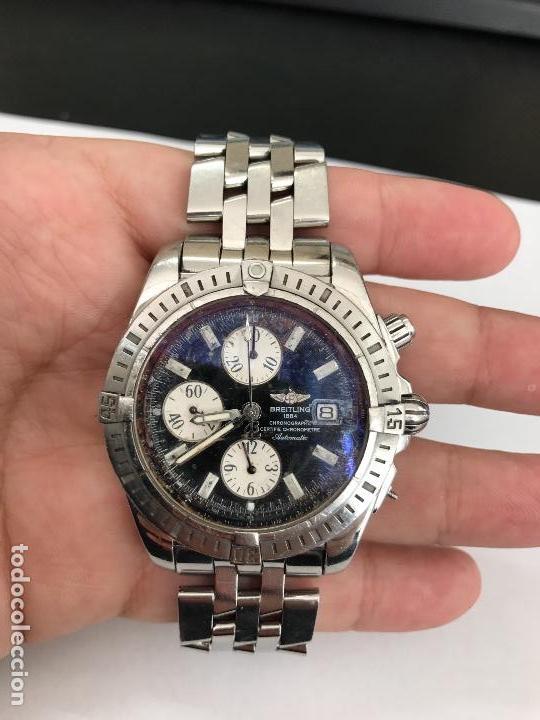 daf5f5c3d50f Reloj breitling a13356 chronomat evolution - Sold through Direct ...