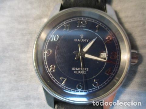 Relojes automáticos: Reloj suizo de pulsera CAUNY CHRONOGRAPH 50 METERS - Foto 2 - 73571887