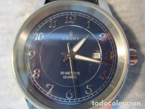 Relojes automáticos: Reloj suizo de pulsera CAUNY CHRONOGRAPH 50 METERS - Foto 3 - 73571887