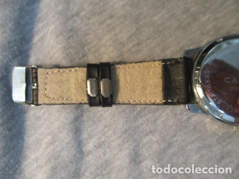 Relojes automáticos: Reloj suizo de pulsera CAUNY CHRONOGRAPH 50 METERS - Foto 7 - 73571887