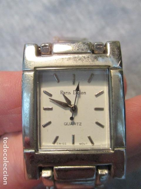 RELOJ SEGUNDA MANO MARCA PARIS DELON QUARTZ (Relojes - Relojes Automáticos)