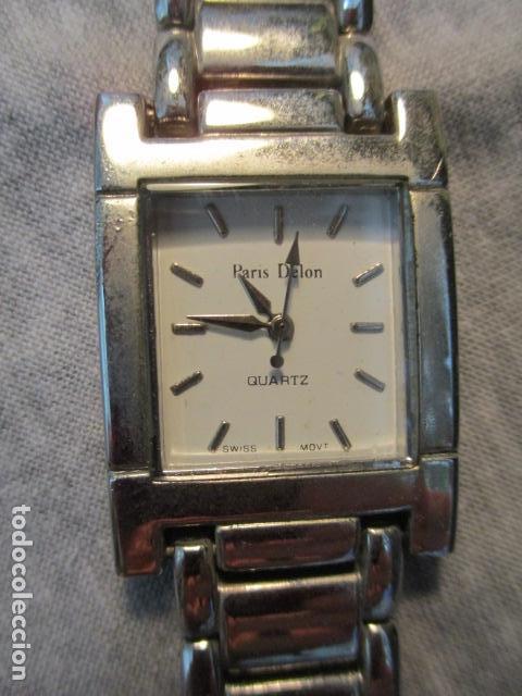 Relojes automáticos: RELOJ SEGUNDA MANO MARCA PARIS DELON QUARTZ - Foto 3 - 73584419
